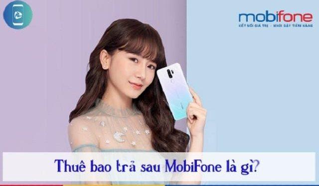 Sim trả sau của Mobifone là gì?